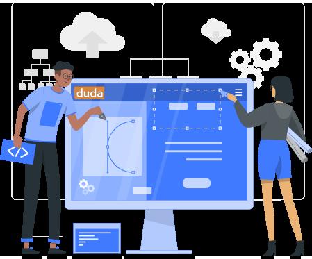 Duda Designing Banner