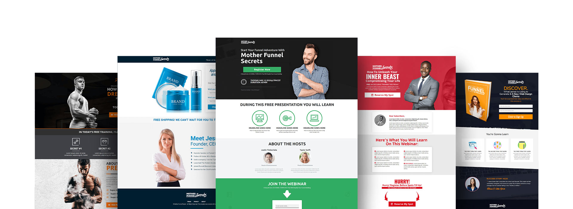 Click Funnels Designing Web Pages