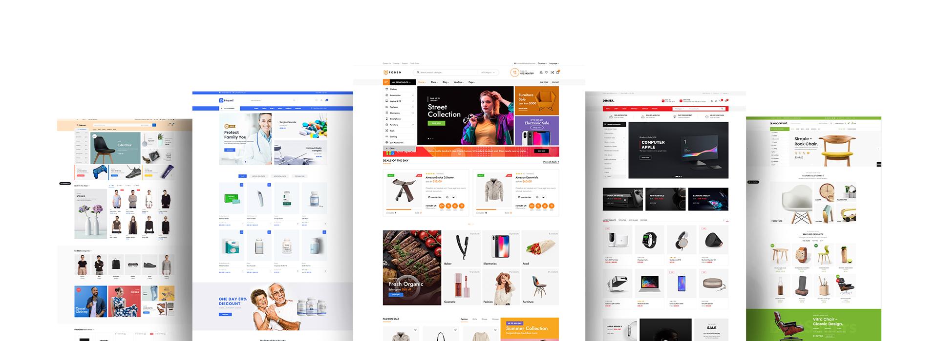 Ecommerce Development Web Pages