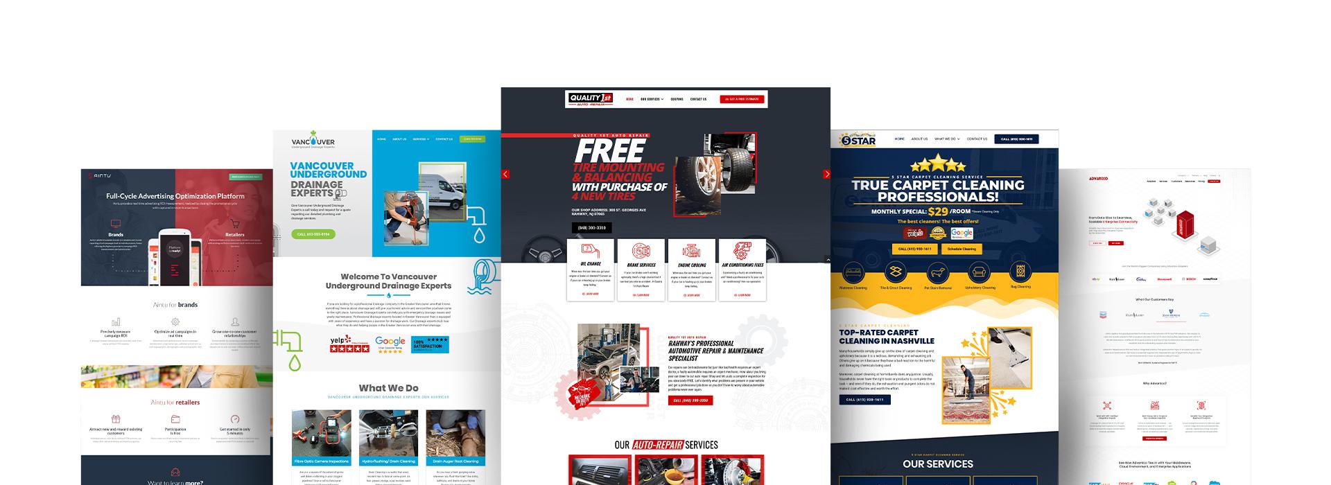 WordPress Development Web Pages